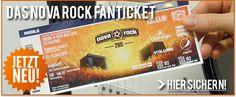 Aufgepasst! Ab sofort ist das offizielle NOVA ROCK Festival FAN-TICKET exklusiv online und in limitierter Auflage bei den Kollegen von oeticket.com sowie MUSICTICKET.at erhältlich!