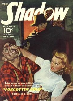 The Shadow pulp 54 by SavageScribe