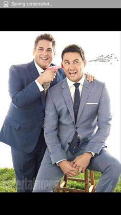 Comedy buddies Channing Tatum and Jonah Hill talk about their ''odd-couple'' dynamic, creative synchronicity, and.if Jonah had ''lady parts''? 22 Jump Street, Coach Carter, Jonah Hill, Evolution Of Fashion, Street Portrait, Hooray For Hollywood, Channing Tatum, Fine Men, My Favorite Music