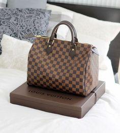 117b0e6ed Louis Vuitton Speedy 30 Damier Ebene Canvas Bolsos De Mujer, Tiendas,  Compras, Cartera