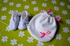 Pochon, chaussons - Coton