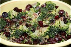 Broccoli Salad with Bacon, Average