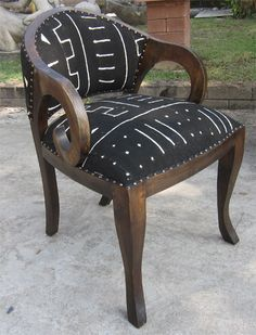 Mud Cloth Chair   Google Search