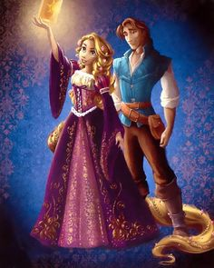 Disney Fairytale Designer Collection ~ Rapunzel & Eugene