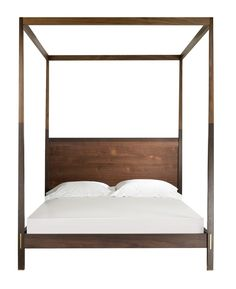 Cooper Canopy Bed  MidCentury  Modern, Metal, Wood, Bed by Desiron