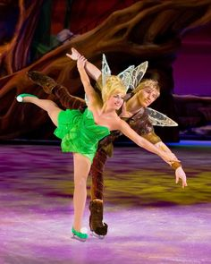 Disney On Ice: Worlds of Fantasy Photos: Tinker Bell and Terence - Disney On Ice Worlds of Fantasy