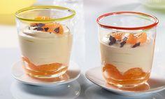Fruchtige Mandarinencreme Rezept: Ein fruchtiges Dessert mit Mandarinen und Quark - Eins von 7.000 leckeren, gelingsicheren Rezepten von Dr. Oetker!