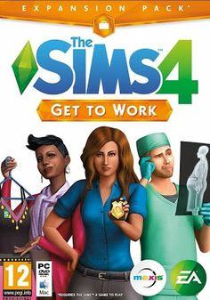 The Sims 4 Get to Work Expansion Pack.  A digital copy would be fine, I don't really need the disk.