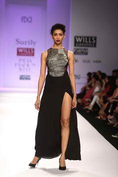 """Wills Lifestyle India Fashion Week AW '13"" Day 1 by Surily Goel #Fashion #WillsLifestyle"