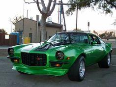 Camaro Z28 in Ghostbusters green!