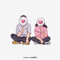 Couple In Love, Love Cartoon Couple, Cute Couple Comics, Cute Love Couple, Cartoon Love Photo, Cute Couple Drawings, Anime Couples Drawings, Cute Anime Couples, Cute Drawings
