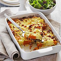 WeightWatchers.com.au: Weight Watchers recipe -                     Bacon and vegie bake