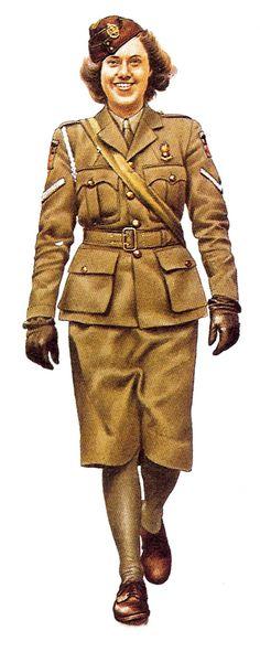 Auxillary Territorial Service - British Army WW2