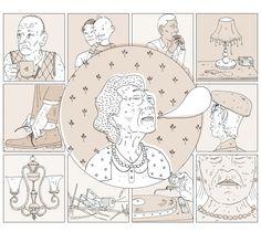 Mais 60 – Sesc  Quadrinho para a revista Mais 60 do Sesc, ilustrando a matéria de capa sobre alzheimer