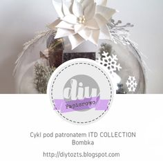 DIY - zrób to sam : PAPIEROWO / cykl pod patronatem ITD COLLECTION / B... Poinsettia, Place Cards, December, Place Card Holders, Christmas, Diy, Collection, Flowers, Xmas