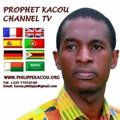 Le Prophète Kacou Philippe est l'Amour de Jésus-Christ manifesté pour nous en cette génération.