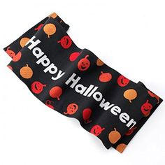 "Happy Halloween Smiling Pumpkins Table Runner 13"" X 54"" N…"
