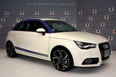 Una versión limitada de una edición especial. Audi A1 Samurai Blue Limited Edition
