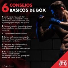 6 consejos básicos de box. #CletoReyes #training #workout #mind #health #box