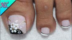 Pretty Toe Nails, Love Nails, My Nails, Pedicure Nail Art, Toe Nail Art, Toe Nail Designs, Acrylic Nail Designs, Nail Art Pieds, Best Nail Salon