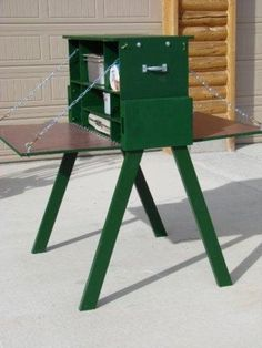 Boy Scout kitchen, a right of passage! They were HEAVY to carry, and made young… Camping Chuck Box, Go Camping, Camping Hacks, Outdoor Camping, Camping Ideas, Camping Essentials, Family Camping, Camping Table, Camping Gadgets
