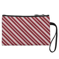 Red stripe in wristlet, clutch purse, makeup bag.. www.zazzle.com/ranaindyrun. Look online for coupon codes or sign up on zazzle.com