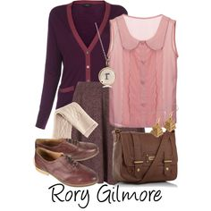 """Rory Gilmore"" by allij28 on Polyvore"