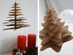 Starry Night #4 * Star Christmas Tree * DIY Advent Calendar – craftaliciousme
