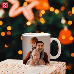 Father's Day is coming soon. Custom photo mugs make wonderful presents! Buy now to get them in time! Personalized Ceramic Coffee Mugs, Personalized Photo Mugs, Custom Photo Mugs, Custom Mugs, Ceramic Mugs, Photo Mug Printing, Photo Book, Photo Art, Happy Anniversary Wedding
