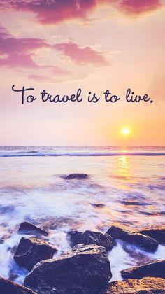 Free inspirational travel desktop & phone wallpaper - The Backslackers