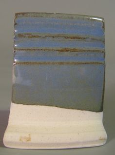 fired in a cone 6 electric kiln on white stoneware  Opaque Semi Matt Glaze 5 (from The Complete Book of Clay and Glazes) Custer feldspar 41....