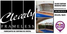 #cortinasdecristal #ventanas #promomizona info@clearlyframeless.com  (34) 966.78.79.19    /    (34) 671.19.46.46    /     671.19.50.01  Polígono Poniente, Parcela 5, Nave 8C.  03158 Catral (Alicante) Spain.