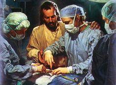 jesus with Dr   Gracia y Responsabilidad   El Gusano de Dios