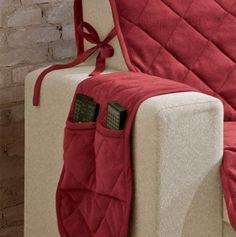 protetor de sofá lacinho