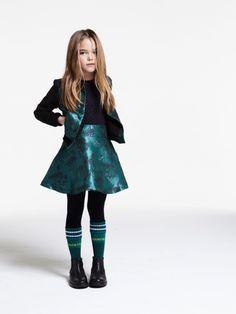 Jeux de matières chez Kenzo Kids | MilK - Le magazine de mode enfant