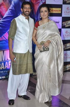 Kabir Khan with Mini Mathur