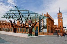 Caixa Forum, Barcelona, Catalonia, Spain. http://www.suntransfers.com/barcelona-airport-to-barcelona-city-all-areas