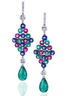 顶级华裔珠宝设计师Anna Hu作品 - pt999 - pt999的博客