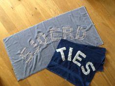 Kraamcadeau. Een eigen handdoek met naam.