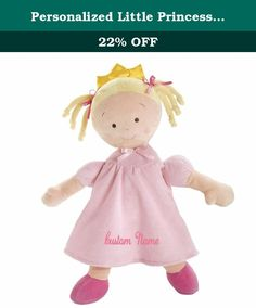 "Personalized Little Princess Doll - 16 Inch - Blonde, CUSTOM NAME. DIBSIES Personalization Station is now providing the ability for Amazon.com shoppers to personalize this Bestselling and Highly Rated Little Princess Doll with their choice of name. *** PLEASE READ *** PLEASE NOTE: Your order will automatically be processed with the name of your choice. Use the ""CUSTOMIZE NOW"" button to preview the name and then add to cart. This Toy Tips ""Trusted"" award-winning doll is the perfect gift…"