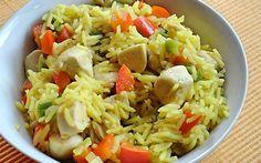 10 húsos egytálétel 600 kcal alatt Croatian Recipes, Hungarian Recipes, My Recipes, Healthy Recipes, Kfc, Fried Rice, Pasta Salad, Food And Drink, Lunch