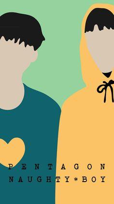 Pentagon - Naughty Boy iPhone Wallpaper (Kpop) on Behance Kpop Iphone Wallpaper, Boys Wallpaper, Wallpaper Ideas, Boy Illustration, Graphic Design Illustration, Yuto Pentagon, Drawing Exercises, Kpop Drawings, E Dawn