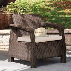 Free Delivery on a Huge Range of Rattan Garden Furniture & Wooden Garden Furniture. Garden Chairs, Tables and Garden Furniture Sets in Stock to buy now Plastic Patio Furniture, Patio Furniture Sets, Wicker Furniture, Outdoor Furniture, Garden Furniture, Furniture Layout, Furniture Ideas, Furniture Design, Outdoor Sofa