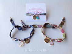 Pulseras de cinta liberty personalizadas Bohemian Bracelets, Handmade Bracelets, Handmade Jewelry, Textile Jewelry, Fabric Jewelry, Jewellery, Fabric Bracelets, Beaded Bracelets, African Bracelets
