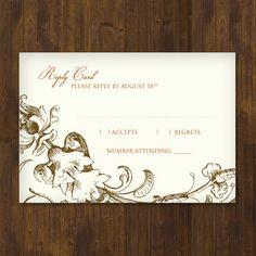 93 best diy wedding rsvp enclosure card templates images on
