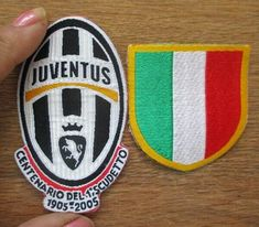 Juventus Club Logo Embroidered Iron On Sew On Patch Badge