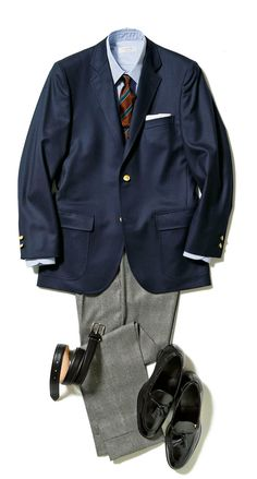 You can quit wanting to know what things to wear to perform to appear as trendy while you do away from the place of work. Blue Blazer Outfit, Blazer Outfits, Blue Blazer Men, Traje Casual, Preppy Men, Men's Wardrobe, Well Dressed Men, Suit Fashion, Gentleman Style