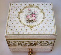 Šperkovnica- Rose / Parea - SAShE.sk - Handmade Krabičky