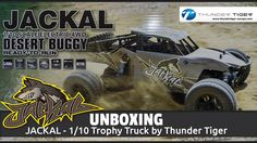 JACKAL - Throphy Truck by Thunder Tiger - Unboxing - Waterproof (Deutsch)