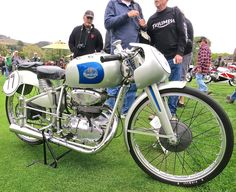 Best of Show: John Goldman's Mondial 125, the bike ridden by Carlo Ubbiali to the World Championship in 1951. The bike was also first place in the Competition On-Road division.